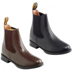 Boots Daslö cuir enfant
