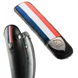 Bracelets interchangeables en cuir avec drapeau Français