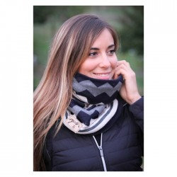 SNOOD IGLOO JACQUARD PENELOPE